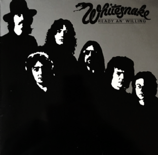 Whitesnake ‎- Ready An' Willing (LP) (VG/VG)